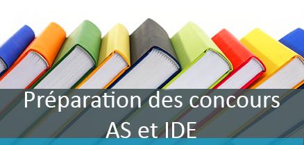Préparation des concours AS et IDE